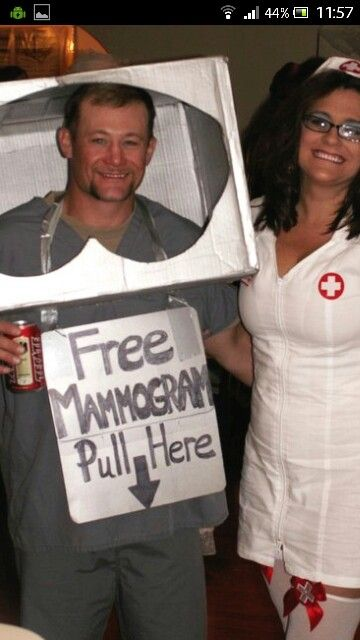 I couldn't help myself, this is funny. Mammogram machine & nurse