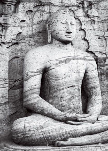 Buddha at Polonnaruwa, Sri Lanka