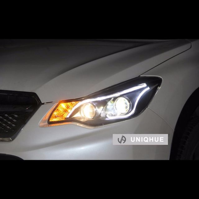 LED Projector DRL Bi-Xenon HID Headlights For Subaru XV 2012~2015