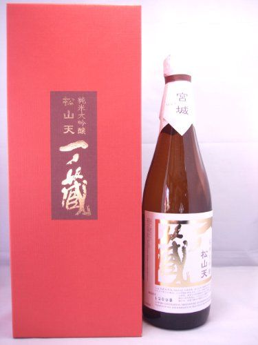 Amazon.co.jp: 一ノ蔵 純米大吟醸 松山天 箱入 720ml (宮城県): 食品・飲料・お酒 通販