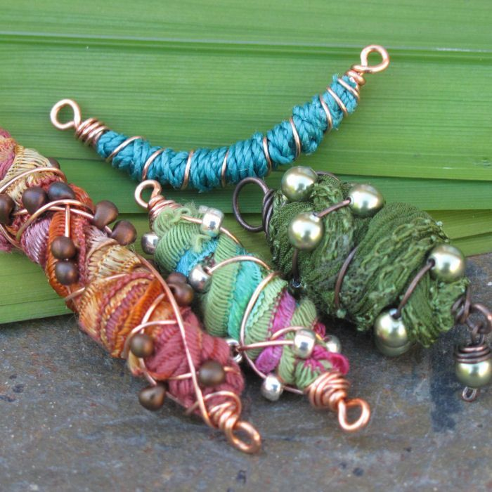 Colorful Cocoon Bead | JewelryLessons.com