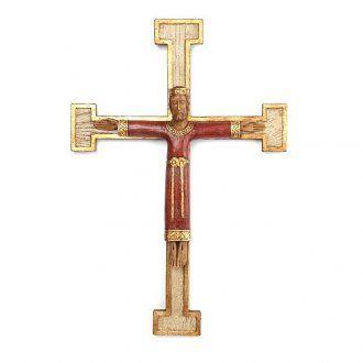 Crocifisso Gesù sacerdote e re | vendita online su HOLYART