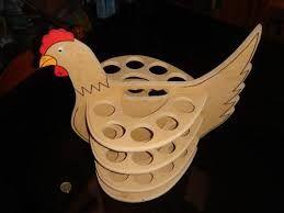 Resultado de imagen para porta huevos en mdf