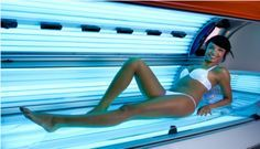 How to Tan Faster in a Tanning Bed