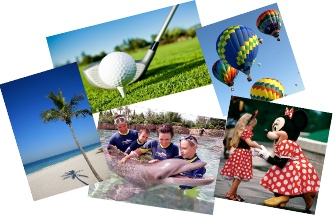 Golf, beaches, hot air balloons, you name it, it's here!