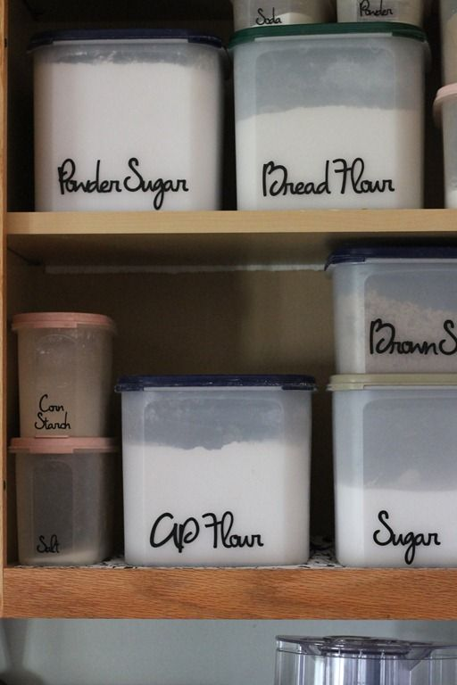storage containers for kitchen pantry i these organized pantry labels and the containers 8367