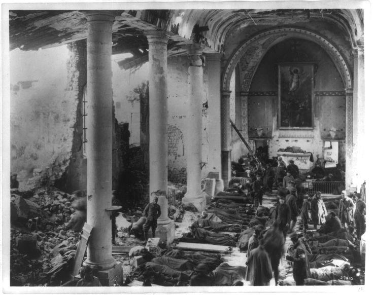 Veldhospitaal Eerste Wereldoorlog 1918 (Frankrijk)