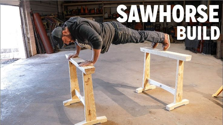 I make a set of sawhorses with traditional mortise & tenon joinery https://youtu.be/3lcmtk8PKn8