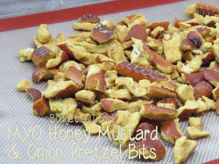 Make Your Own Copycat Honey Mustard & Onion Pretzel Bites