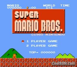 Classic NES - Super Mario Bros. ROM Download for Gameboy Advance / GBA - CoolROM.com