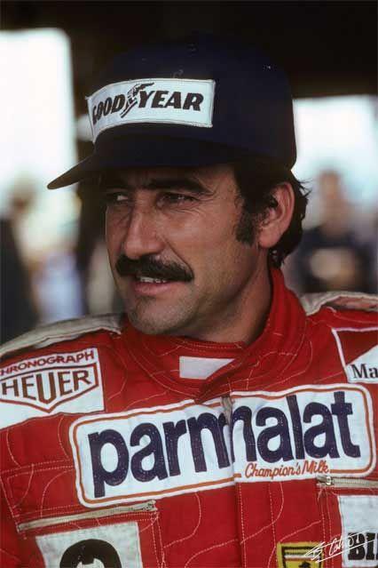 Clay Regazzoni, 1976.  9/5/1939 - 12/15/2006 (67) Mendrisio, Switzerland