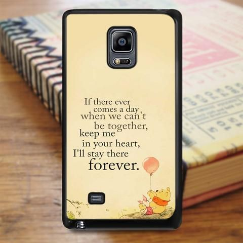 Winnie The Pooh Quote Samsung Galaxy Note 5 Case