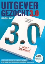 Uitgever Gezocht 3.0 van Maurice Smit. Prima boek voor als je als schrijver eenmaal besloten hebt om je manuscript via TenPages te lanceren.