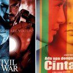 Tayang Bareng di Bioskop, AADC 2 Tak Mau Kalah dari Civil War