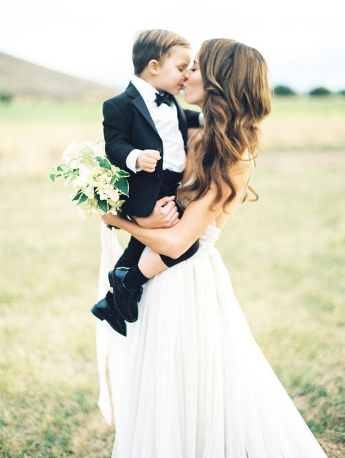 Me and my nephew | A wedding picture to make your heart melt.