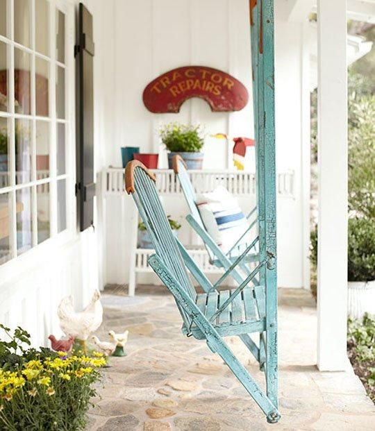 8 best images about porch swings on pinterest gardens - Vintage front porch decorating ...