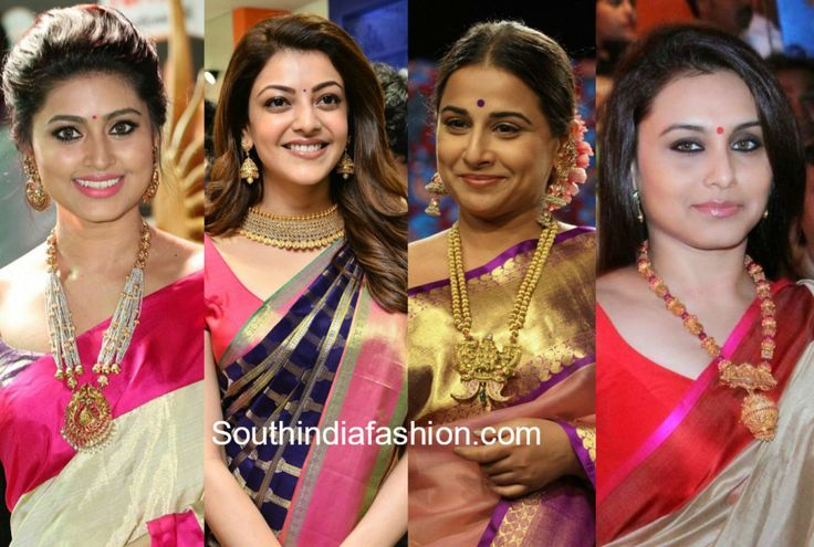 The Must-Have Jewelry While Wearing A Pattu Saree