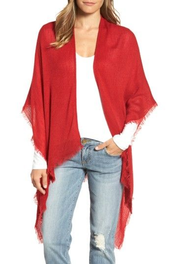 Free shipping and returns on Echo Fringe Trim Cape at Nordstrom.com. An ultrasoft, fringe-trimmed wrap makes for a versatile addition to your casual or travel style.