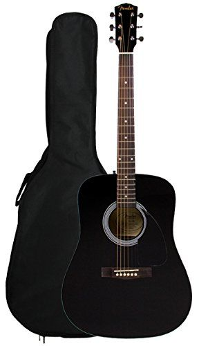 Fender FA-100 Limited Edition Dreadnought Acoustic Guitar with Gig Bag – Black  http://www.instrumentssale.com/fender-fa-100-limited-edition-dreadnought-acoustic-guitar-with-gig-bag-black-2/