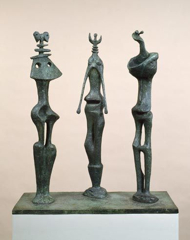 tumbleword: Henry Moore three standing figures