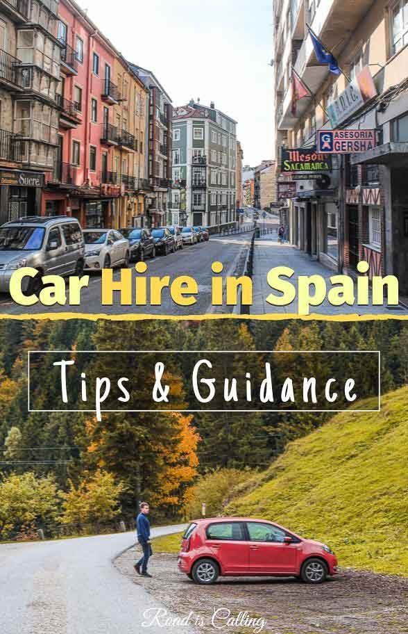 Car Hire In Spain Best Deals Common Mistakes Driving Tips