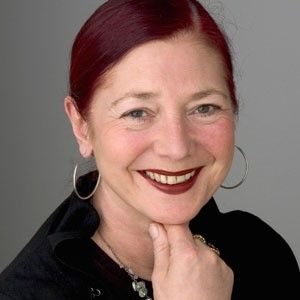 Wendy Dagworthy. Lipstick and hair.