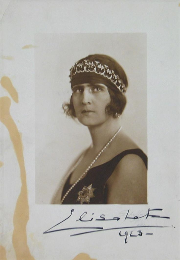 Queen Elisabeth of Greece