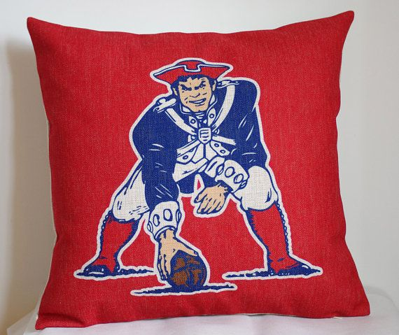 Hey, I found this really awesome Etsy listing at https://www.etsy.com/listing/202627362/nfl-new-england-patriots-pillow-new