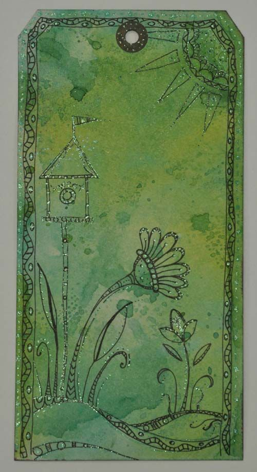 Whimsical Zenspirations! video tutorial: Awesome Design, Idea, Style, Mixedmedia, Zenspirations Design, Fink Design, Awesome Zenspirations