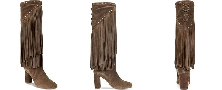 INC International Concepts Women's Tolla Tall Fringe Boots, Only at Macy's - Tall Boots - SLP - Macy's