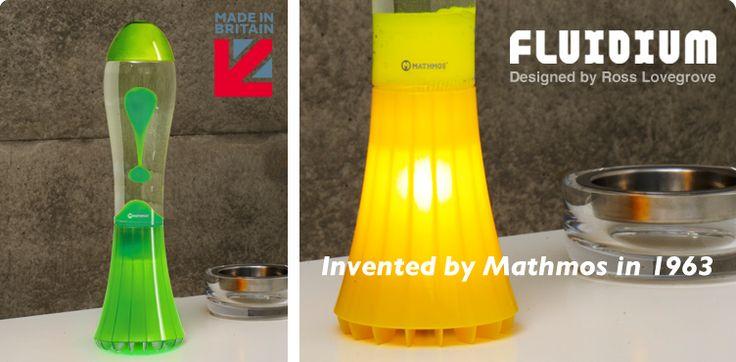Fluidium lava Lamp from Mathmos