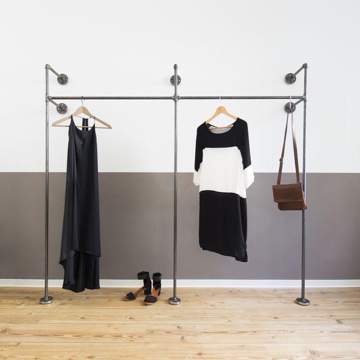 Cool Offener Kleiderschrank Open Wardrobe Kleiderstange Clothes Rail Clothing Rail Clothes Rack