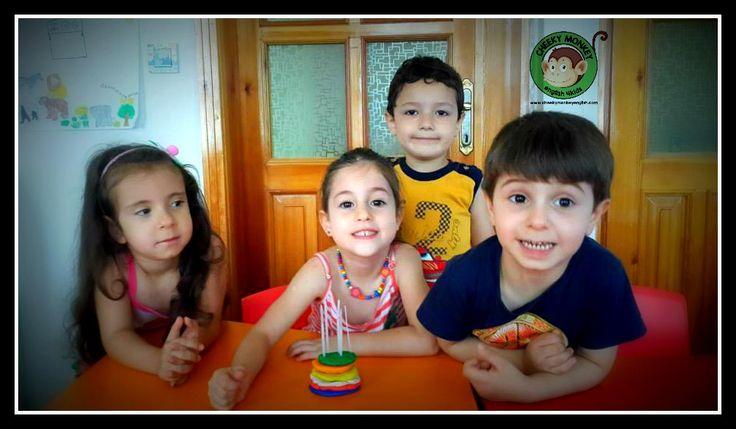 Let's play with dough...#CME4K Sadece çocuklar (Okul Oncesi - Ilkokul - Ortaokul) için İngilizce dil kursu İzmir