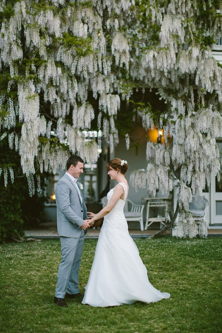 Summerlees wedding. Stunning wisteria draping the main house. Image: Cavanagh Photography. http://cavanaghphotography.com.au