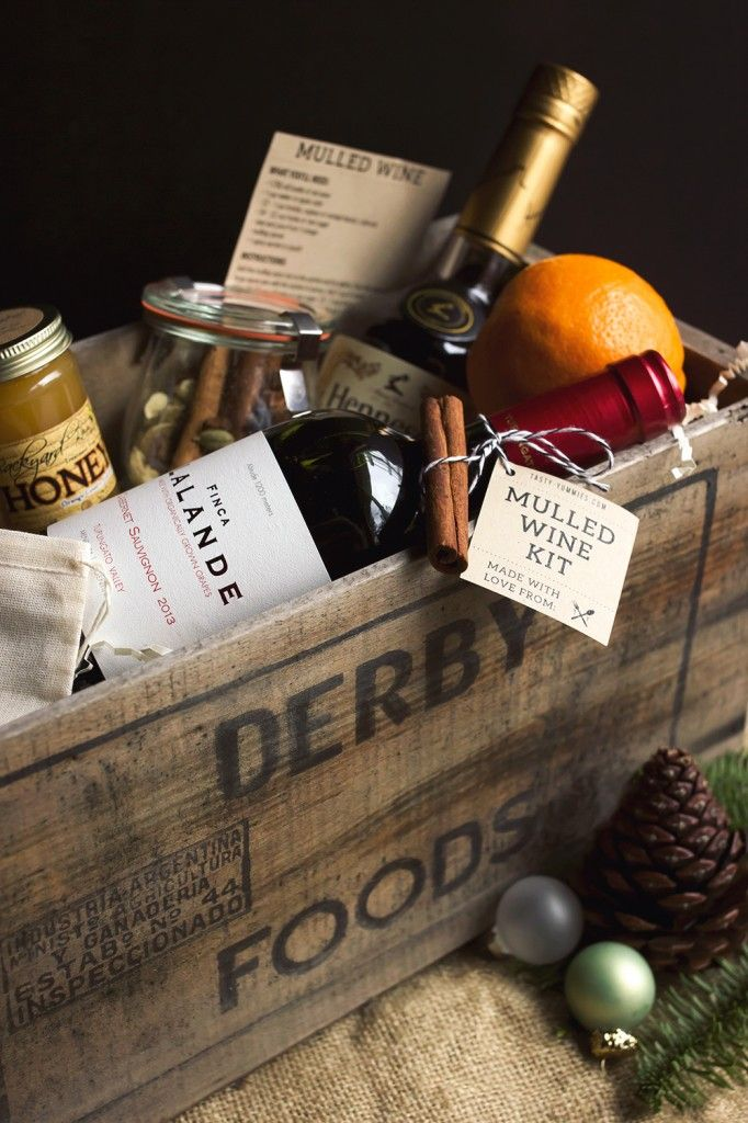 This DIY Mulled Wine Kit makes a great holiday gift. Gather up the ingredients and arrange in a wood box or basket. Includes free printable instructions to go in the kit.