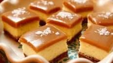 Salted Caramel Cheesecake Squares Recipe : Ree Drummond : Food Network
