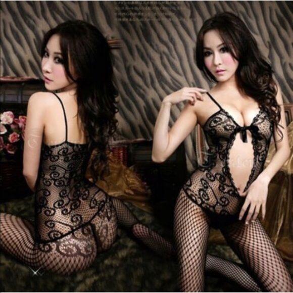 Black sexy body stocking New. Xs/s/m Intimates & Sleepwear Shapewear