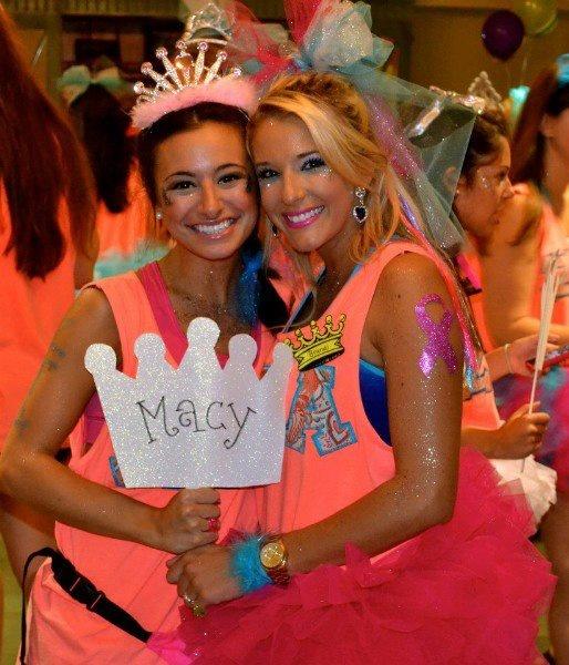 "Zeta Tau Alpha Delta Kappa Chapter at Louisiana State University used the theme ""Make it Reign"" to play on our crown symbol. | #ZTA #ZetaTauAlpha"