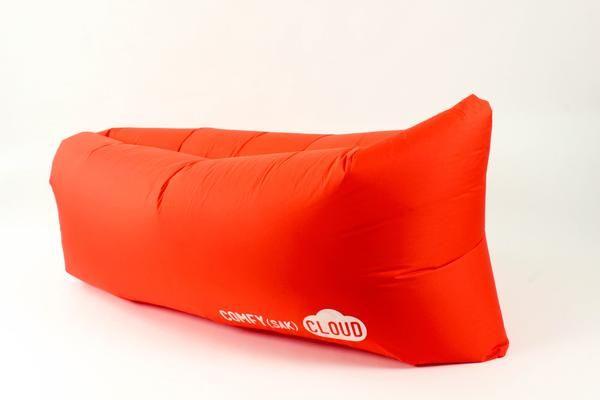 Orange CLOUD - air lounger