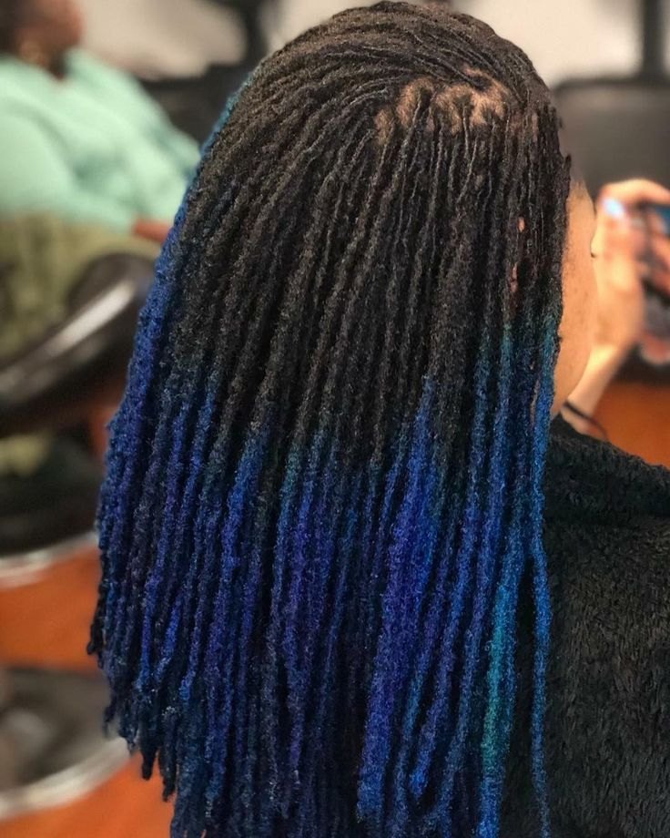 "963 Likes, 12 Comments - LOC LUST ™ (@loc_lust) on Instagram: ""L O C. L U S T™ Her hair looks amazing...she pulled this blue ting off so smooth  . . #Locs…"""