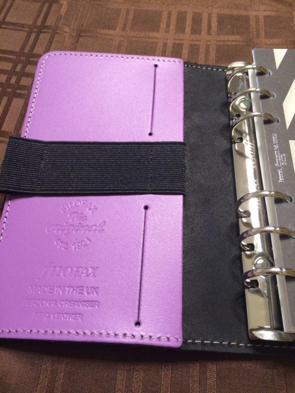 filofax lilac