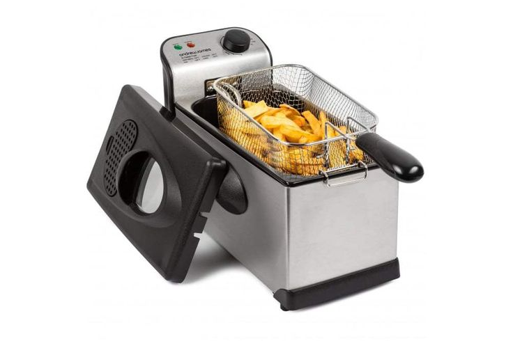 #bestoftheday #FF #cooking Deep Fryers can greatly ease up your life and give you delicious fried food within minutes. Take a look at our best deep fryers review where we reveal the best deep fat fryers on the market. We've looked at 26 electric deep fryers and covered more than 61 hours of research and testing to write...