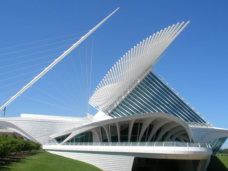 milwaukee museum of art building architect santiago calatrava milwaukee wisconsin