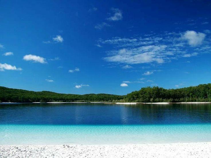 Lake McKenzie Fraser Island QLD