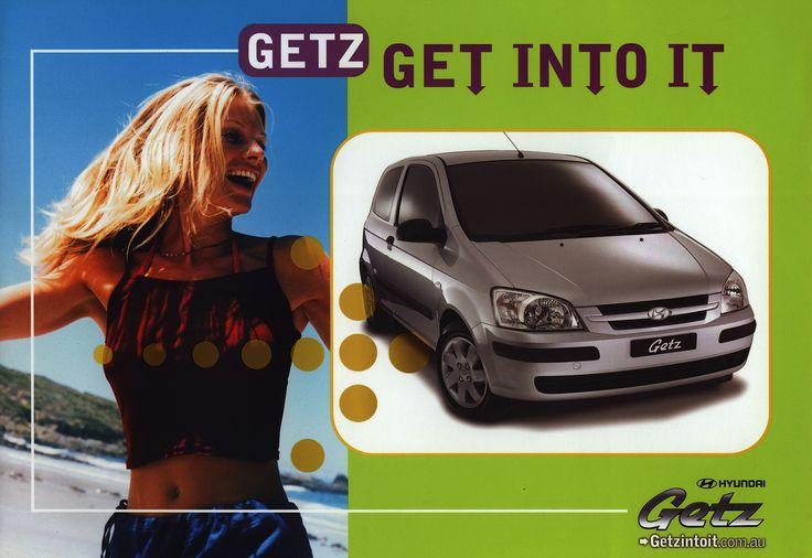 https://flic.kr/p/EYSkDF | Hyundai Getz; 2002  (Australia) | car brochure by worldtravellib World Travel library