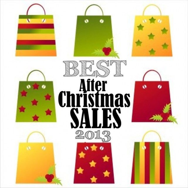 The Best After Christmas Sales 2013, Kohls Target Old Navy H&M Gap and more!