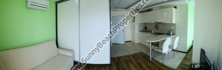 Pool view furnished 1-bedroom apartment open plan for sale in complex Benito 250m from beach in Sveti Vlas, Bulgaria - Sunnybeach Properties - Real Estates in Bulgaria. Apartments, Villas, Houses, Land in Sunny Beach, Nesebar, Ravda ...