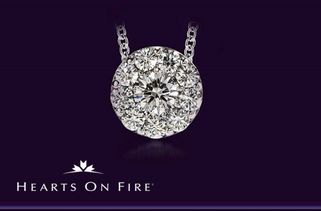 The stunning diamond fulfilment pendant