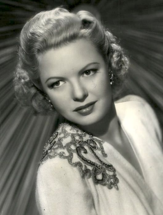 Marjorie Reynolds (née Goodspeed; August 12, 1917 – February 1, 1997) American film and television actress