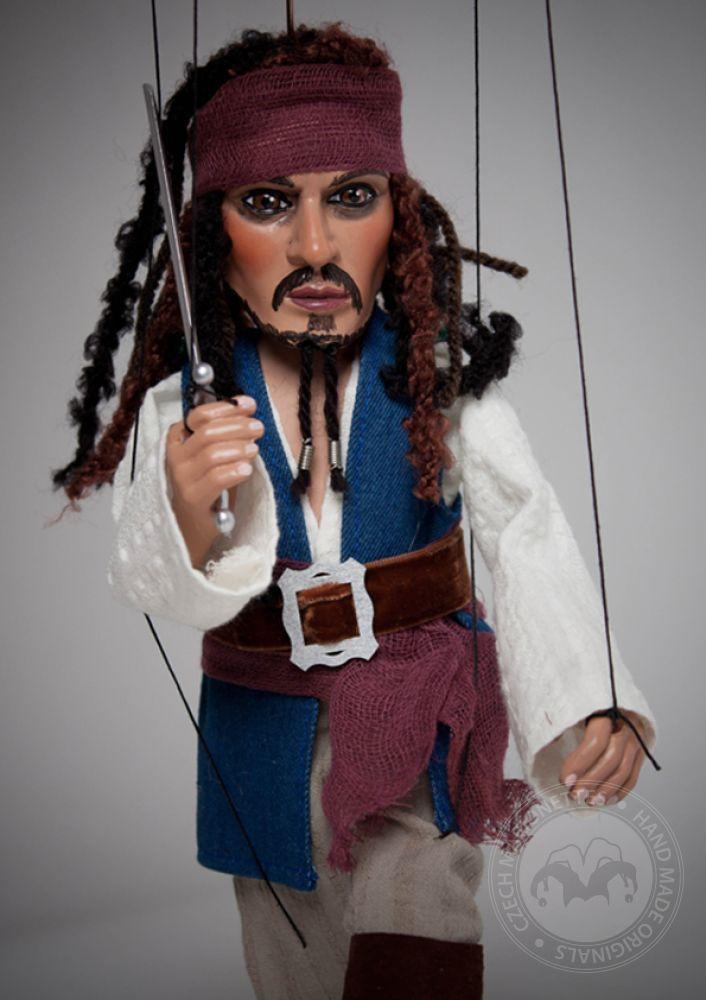 foto: Pirate Marionette Jack Sparrow